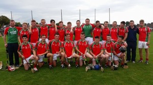 Carraig na bhFear Minor Hurlers  - Rebel Og East Champions 2014
