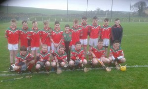Carraig na bhFear U14 Féile hurling team who reached the semi finals