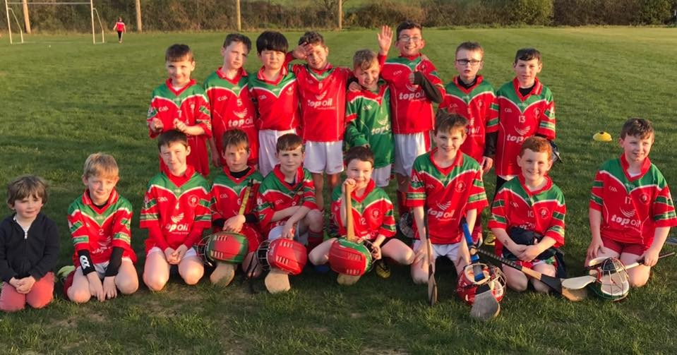 The Carraig Under 9's who played Donoughmore in a cracking contest