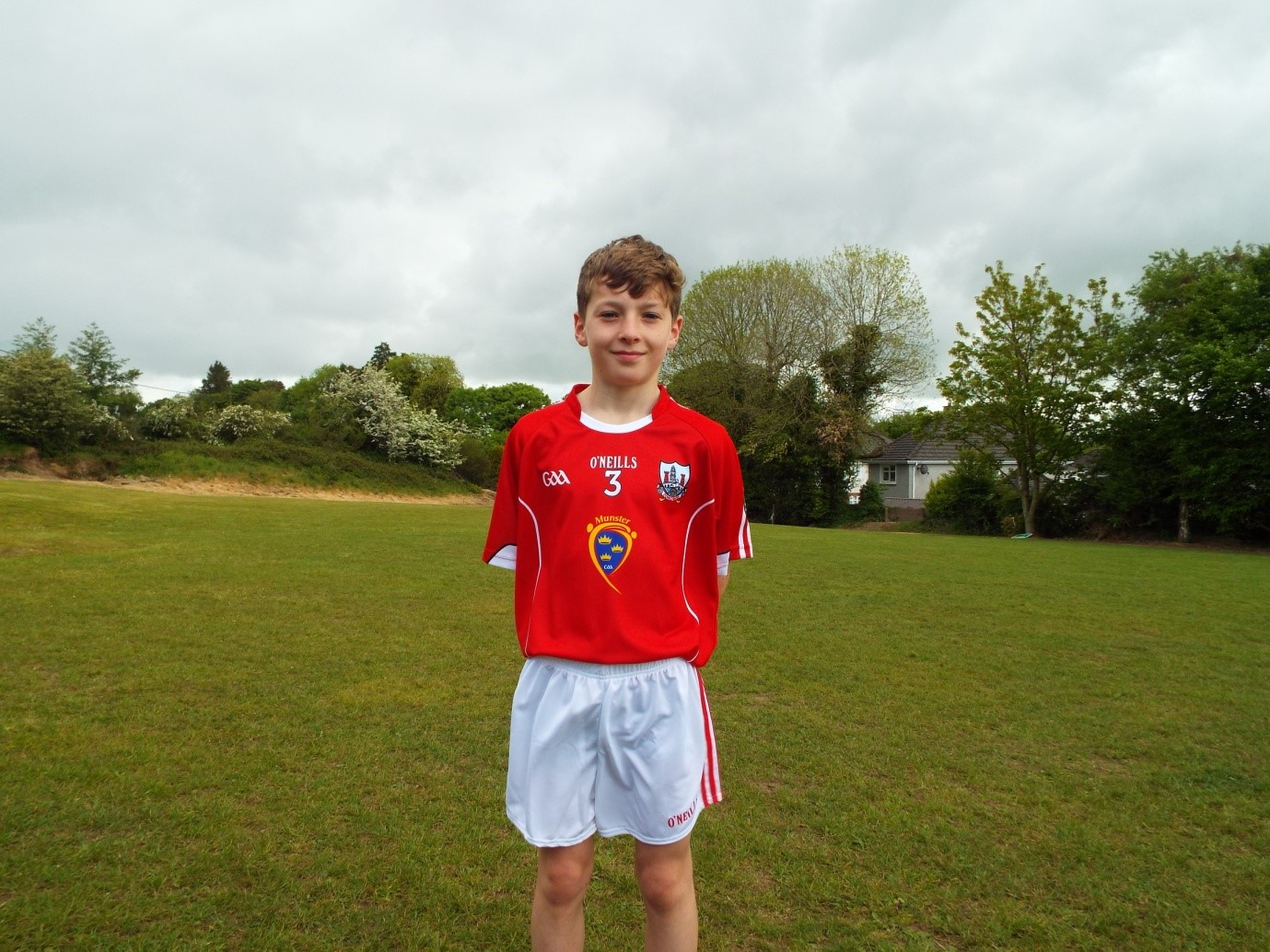 Kevin Fitzpatrick, who represented Cork in Dungarvan during the Cork v Waterford MSFC Quarter Final