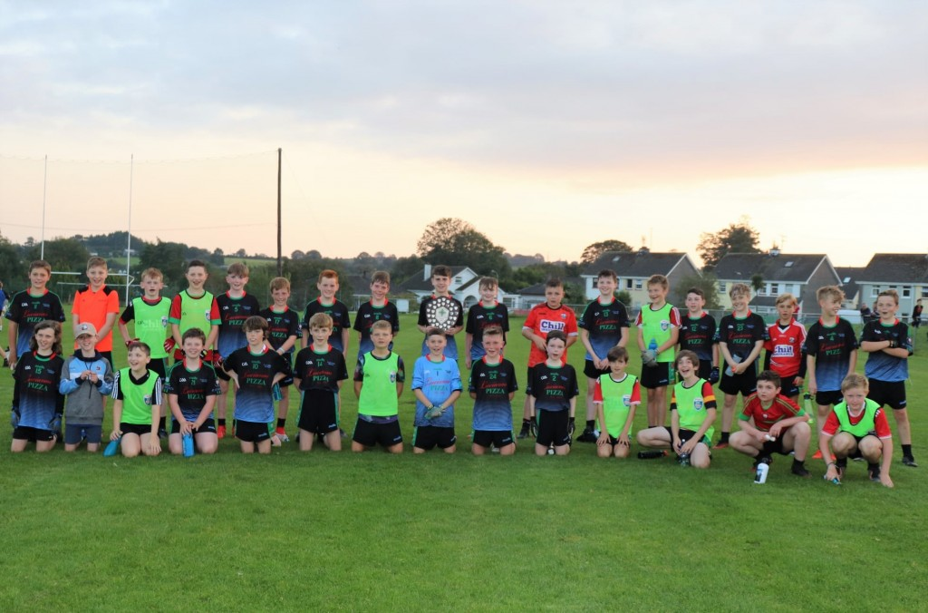St. Colmcilles U12 football squad 2020